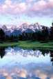 Grand Teton Plakat af Christopher Talbot Frank