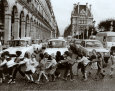 School Kids Art Print by Robert Doisneau