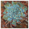 Blue Agave II Konsttryck av Jillian David