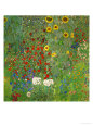 Sunflowers, 1912 Giclee Print by Gustav Klimt