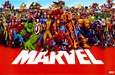 Marvel-Comics Poster
