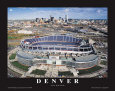 Dever Broncos- New Invesco Field Kunstdruck