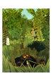 Joyeux Farceurs Lámina por Henri Rousseau