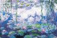 Vandliljer Kunsttryk af Claude Monet