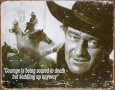 John Wayne (blikskilte) Posters