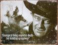John Wayne (blikskilte) Posters
