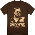 The Big Lebowski - World of Pain T-Shirt