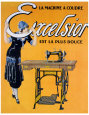 Sewing (Vintage Art) Posters