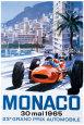 Monaco Grand Prix (vintagekunst) Posters