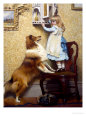 Secret Place Giclee Print by Charles Burton Barber