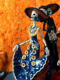 Day of the Dead Offering in Museum of Fine Mexican Art, Mexico Lámina fotográfica por Russell Gordon