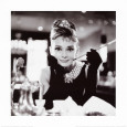 Audrey Hepburn dans Diamants sur canap Reproduction d'art