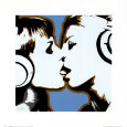 The Kiss Art Print by Steez
