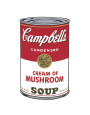 Campbell's Soup I: Cream of Mushroom, c.1968 Reproduction d'art par Andy Warhol