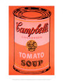 Campbell's Soup Can, c.1965 (Orange) Art Print by Andy Warhol