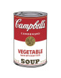 Campbell's Soup I: Vegetable, c.1968 Art Print by Andy Warhol