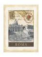Destination Rome Kunsttryk af Tina Chaden