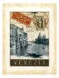 Destination Venice Kunsttryk af Tina Chaden