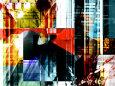 Abstrakt Digital Art (dekorativ kunst) Posters