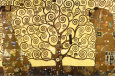 The Tree of Life Plakat af Gustav Klimt