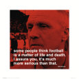 Bill Shankly: Football Art Print