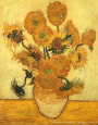 Vase of Fifteen Sunflowers, c.1889 Art Print by Vincent van Gogh