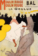 Moulin Rouge, ca. 1891 Lmina por Henri de Toulouse-Lautrec