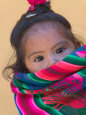 Portrait of a Young Indian Girl, Cusco, Peru Fotografisk tryk af Keren Su