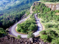 Hairpin Curve, Columbia River Highway, Oregon, USA Photographic Print by William Sutton