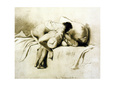 Man and Woman Making Love, Plate 2 of Liebe Giclee Print by Mihaly von Zichy