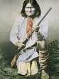 Geronimo Lámina fotográfica