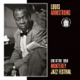 Louis Armstrong, Live at the 1958 Monterey Jazz Fest Premium Poster