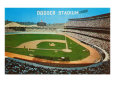 Dodger Stadum, Los Angeles, California Gicleetryck