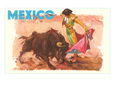 Bullfight Poster, Mexico Giclee Print