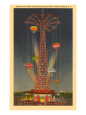 Parachute Jump Ride, Coney Island,  New York City reproduction procédé giclée