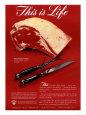 Meat, USA, 1940 Wydruk giclee