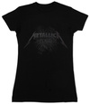Juniors: Metallica - Black Death T-Shirt