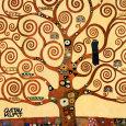 Livets træ, Stoclet-frisen, ca.1909, udsnit Kunsttryk af Gustav Klimt
