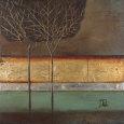 Gold Forest I Kunsttryk af Patricia Quintero-Pinto