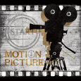 Motion Picture Reproduction d'art par Conrad Knutsen