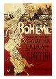 La Bohme, Musica di Puccini Reproduction d'art par Adolfo Hohenstein