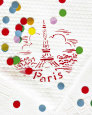 Paris Confettis Reproduction d'art par Danielle Coquille