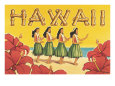 Turistreklame fra Hawaii (rgangskunst) Posters