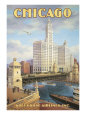 Chicago reproduction procédé giclée par Kerne Erickson
