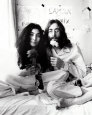 John Lennon and Yoko Ono Photo by Ivor Sharp