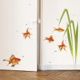 Poissons rouges Posters