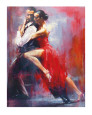 Tango Nuevo I Reproduction d'art par Pedro Alverez