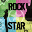 Rock Star Art Print by Louise Carey