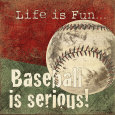 Baseball (Decorative Art) Posters