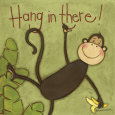 Hang in There Art Print by Anne Tavoletti